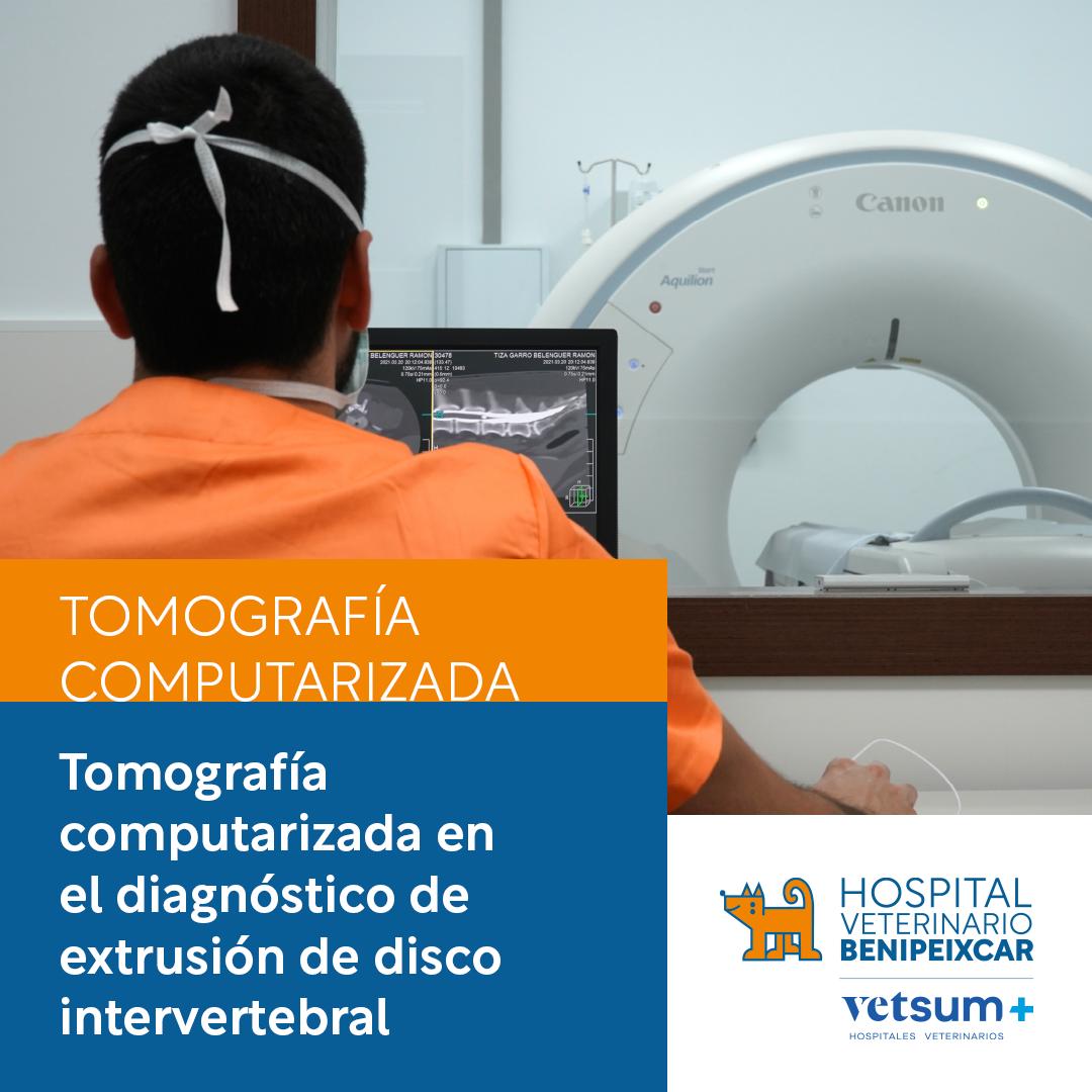 Tomografía computarizado en el diagnóstico de extrusión de disco intervertebral